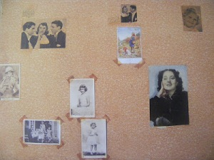 anne frank bedroom wall