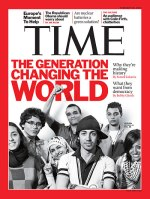 "Time Magazine Cover 2011: ""The Generation Changing the World."""